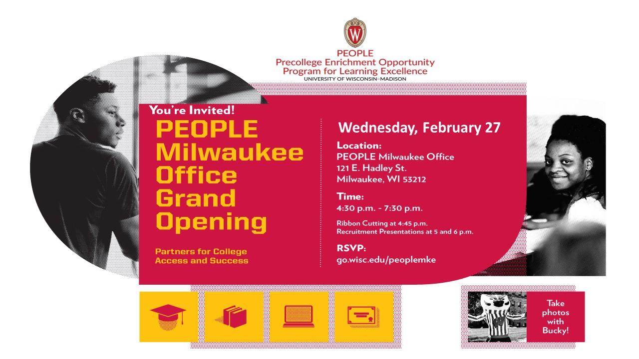 PEOPLE Milwaukee Grand Opening Flyer